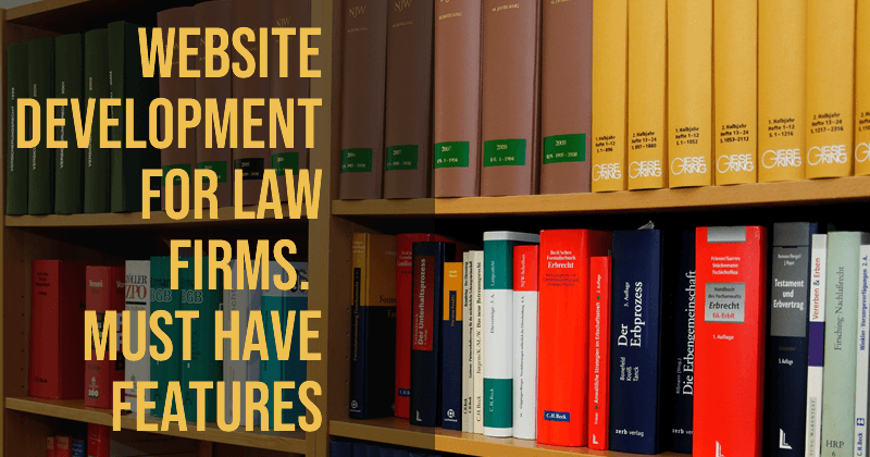 Website Development for law firms