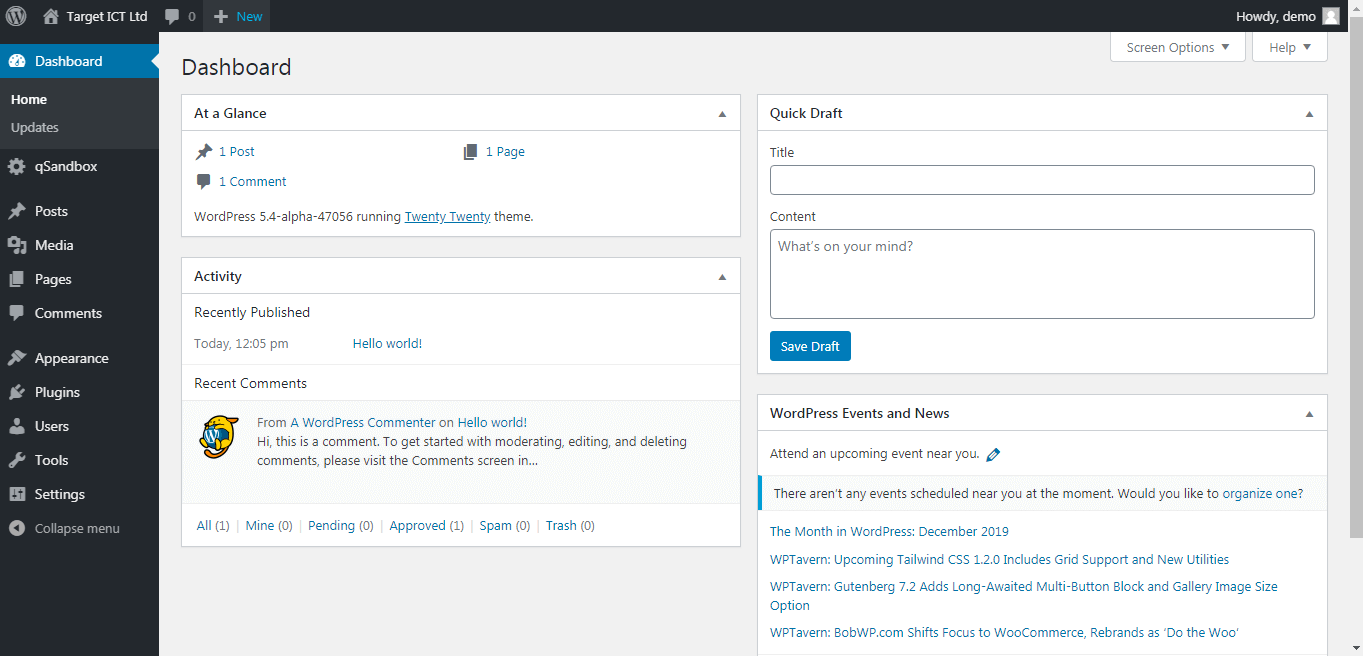 Wodpress/CMS Website - How to make changes